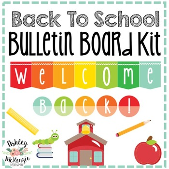 Back To School Bulletin Board Kit