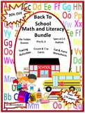 Back To School Bundle Special Education and Autism Resources Fine Motor Skills