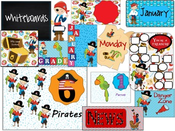 Back To School Bundle Pirate Theme