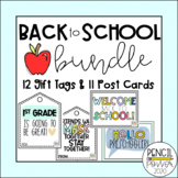 Back To School Bundle | Postcards | Gift Tags