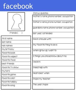 Back To School Bundle Teacher Info Activities