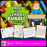 Back to School Activities Bundle FREE