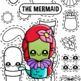 Back To School - Cactus Dress Up 3 Collage Clipart