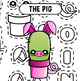 Back To School - Cactus Dress Up 4 Collage Clipart