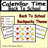 Back To School Calendar Collection