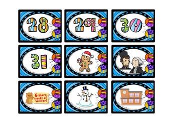 Back To School - Calendar Décor - FREEBIE