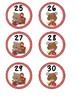 Back To School Calendar Numbers Free
