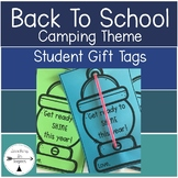 Back To School Camping Theme Student Gift Tags
