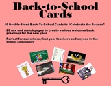 Back-To-School Cards