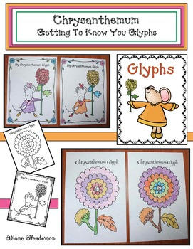 """Back To School """"Chrysanthemum-Themed"""" Getting To Know You Glyphs"""