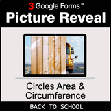 Back To School: Circles Area & Circumference - Google Form