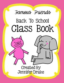 Back To School Class Book