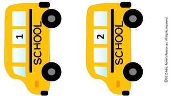 Addition and Subtraction Back To School Class Game