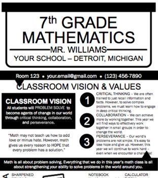 Back To School Classroom Culture Bundle (Syllabus, Surveys, Activities & More!)