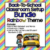 Back-To-School Classroom Setup BUNDLE!