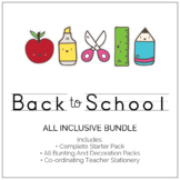 Back To School Classroom Decor - All Inclusive Pack (The Lot!)