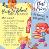 Back To School Clip Art - MEGA BUNDLE (COMPLETE)