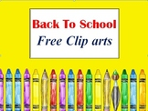 Back To School Clipart Images {FREE}