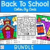 Back To School Color By Number Bundle