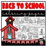 Back To School Coloring Book {Educlips Resources}