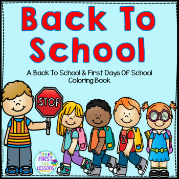 Back To School Coloring Booklet
