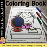 Back To School Coloring Pages - 68 Pages Of Back to School