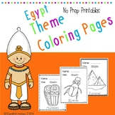 Coloring Pages for kids| Egypt