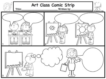Back To School Comic Strip Writing By Jessica S Resources Tpt