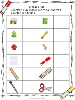 Back To School Common Core Literacy and Math Centers for Second Grade