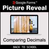 Back To School: Comparing Decimals - Google Forms Math Gam