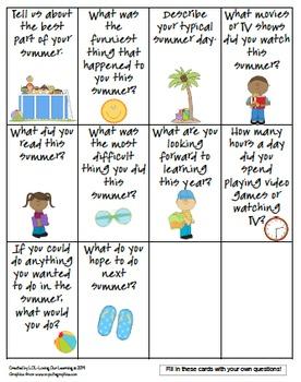 Back To School- Teambuilding or classbuilding activity