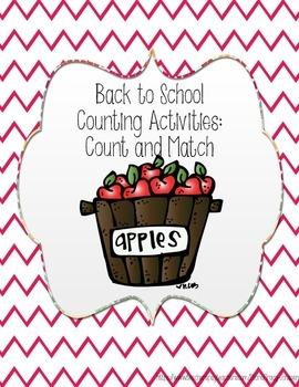 Back To School Count and Match