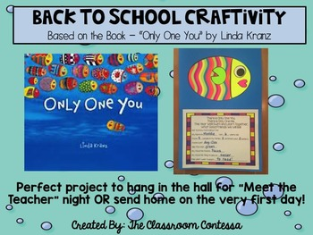 Back To School Craftivity - Three Craft Bundle