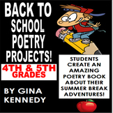 Back to School Poetry Projects, NO-PREP Way to Get Kids Wr