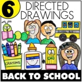 Back To School Directed Drawings {Preloaded to Seesaw and