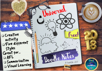 Back To School : Doodle Notes