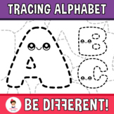 Back To School - Tracing Clipart (Alphabet)