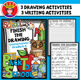 Back To School Drawing and Writing Activity