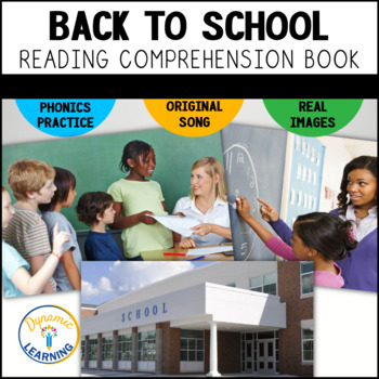 Back To School Interactive Book and Song