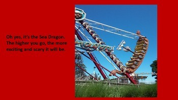 Back To School ELA Through Amusement Park Fun