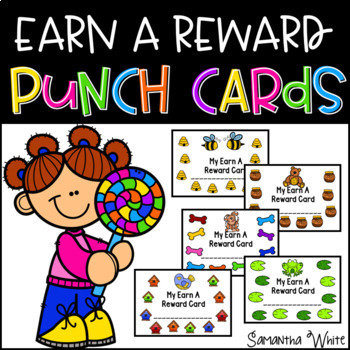 Earn A Reward - Punch Cards