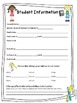 Back To School Editable Forms
