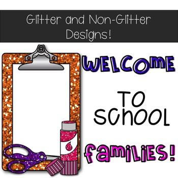 Back To School Editable Light Box Slide Designs