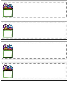 Back To School Editable Two Sided Flipbook