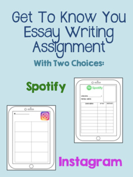 Back To School Essay: What Influences You & Spotify Playlist Creation