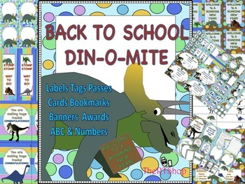 "Dinosaur Classroom Decor Back To School ""Welcome To A Roar"
