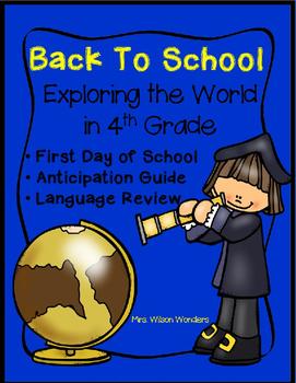 Back To School -Exploring 4th Grade
