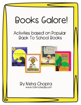 Back To School Favorite Books!