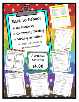 Back To School Ice Breakers and Community Building