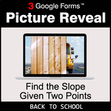 Back To School: Find the Slope Given Two Points - Google F